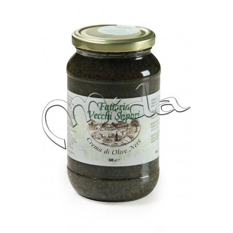 Crème OLIVE NOIRE g 500 Pot