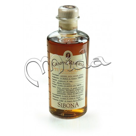 Grappa BARBERA Tuttogrado 54,5° - cl 50